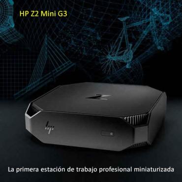 HP Z2 Mini G3 – La primera estación de trabajo profesional miniaturizada